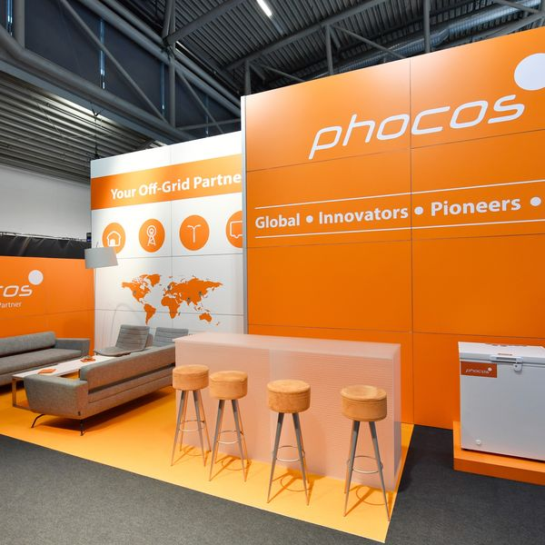 Messestand Phocos AG
